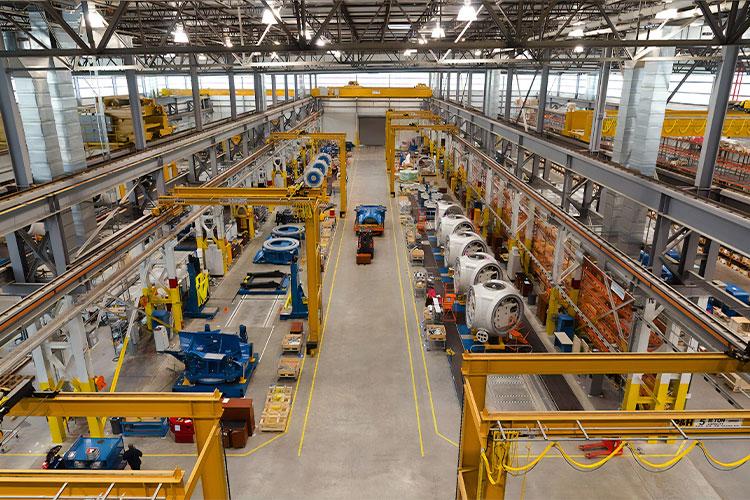 Halle des Maschinenbaus